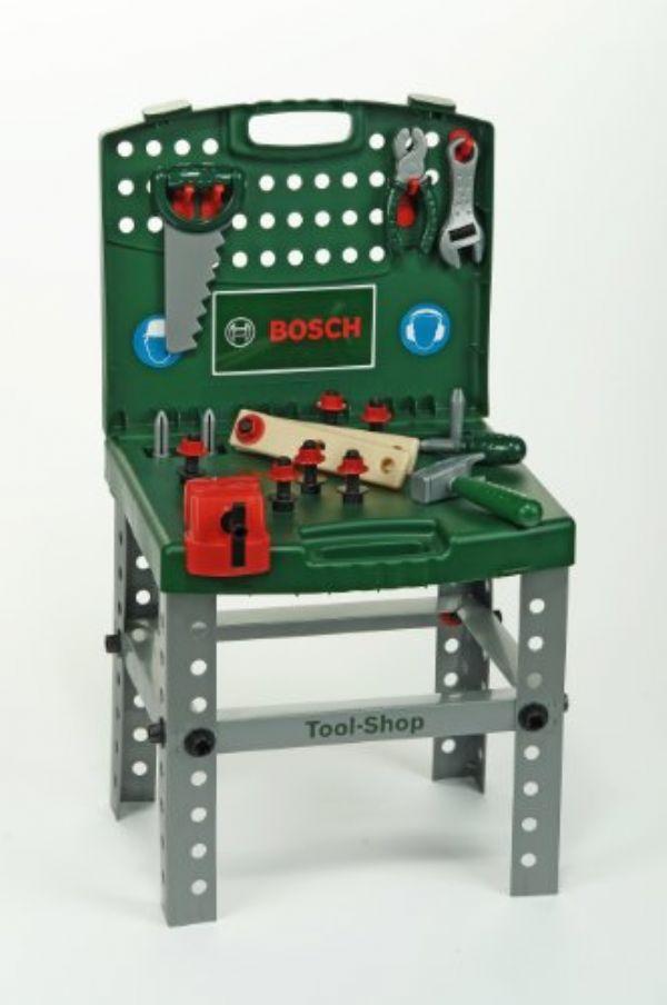 Maletin de herramientas plegable convertido en for Mesa plegable maletin