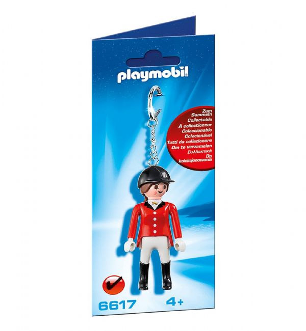 LLAVERO AMAZONA PLAYMOBIL