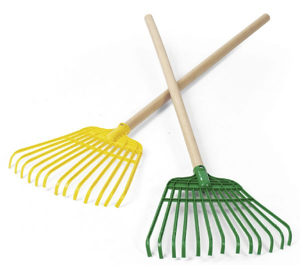 Rastrillo para hojas jardineria para ni os rollytoys de for Pala de jardineria