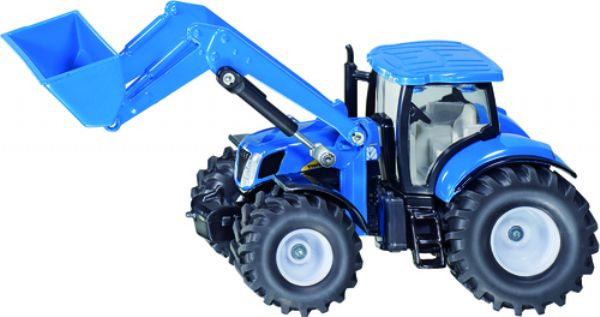 TRACTOR NEW HOLLAND CON CARGADOR FRONTAL