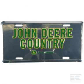 PLACA JOHN DEERE COUNTRY