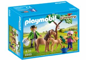 VETERINARIO DE PONIS PLAYMOBIL