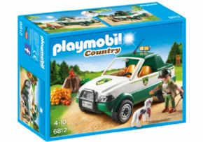 GUARDABOSQUES PICK-UP DE PLAYMOBIL