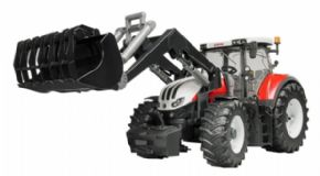 TRACTOR STEYR 6300 TERRUS CVT CON PALA