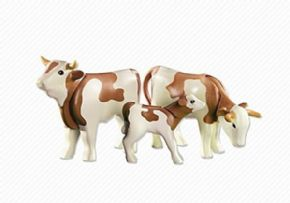 VACAS CON TERNEROS PLAYMOBIL COUNTRY