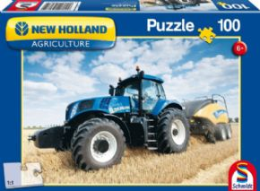 PUZZLE TRACTOR Y EMPACADORA NEW HOLLAND