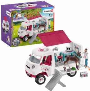 VETERINARIA MOVIL CON POTRO SCHLEICH