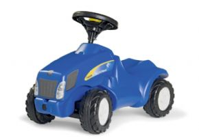 CORREPASILLOS TRACTOR NEW HOLLAND  ROLLYTOYS