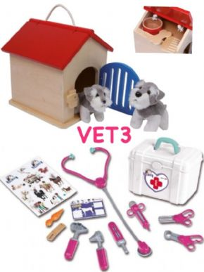 KIT VETERINARIO PERROS RURALTOYS