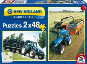CONJUNTO DE 2 PUZZLES NEW HOLLAND