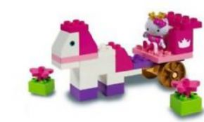 HELLO KITTY EN CABALLO