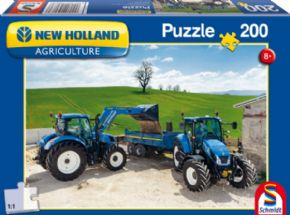 PUZZLE DE TRACTORES NEW HOLLAND