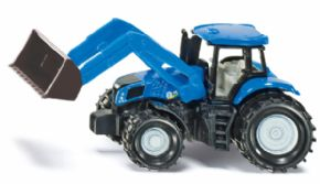 TRACTOR NEW HOLLAND CON CARGADOR FRONTAL SIKU