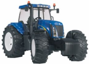 TRACTOR DE JUGUETE NEW HOLLAND TG285