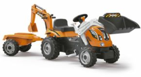 TRACTOR DE PEDALES POWER-BUILDER BIG