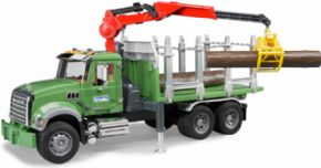 CAMION FORESTAL MACK CON GRUA