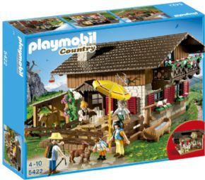 CASA DE LOS ALPES PLAYMOBIL