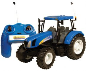 TRACTOR DE JUGUETE RADIO CONTROL NEW HOLLAND